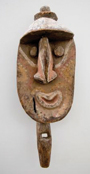 New Guinea: Yina , Yam Ceremony, Wosera area. Wood and earth pigments. Mid 20th Century.